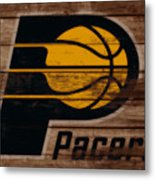 The Indiana Pacers 3b Metal Print