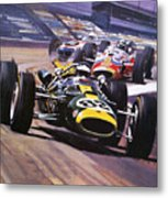 The Indianapolis 500 Metal Print