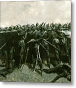 The Infantry Square Metal Print