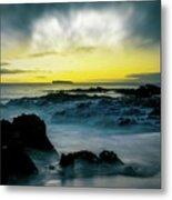 The Infinite Spirit  Tranquil Island Of Twilight Maui Hawaii  Metal Print