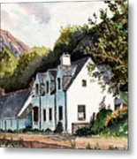 The Inn Scotland Metal Print