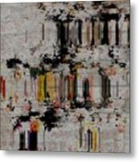 The Insistance Of Life Metal Print