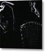 The Intensity Of Flamenco Metal Print