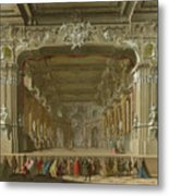 The Interior Of A Theatre Metal Print