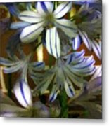 The Intransigent Beauty Of Blue Metal Print