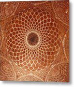 The Intricate Inlay And Carving Metal Print