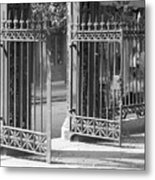 The Iron Gates Metal Print