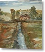 The Irrigation Canal Metal Print