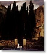 The Isle Of The Dead 1886 Metal Print