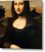 The Isleworth Mona Lisa Metal Print