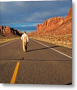 The Itinerant Photographer Metal Print
