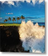 The Jack Nicklaus Signature Hualalai Golf Course Metal Print