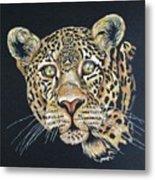 The Jaguar - Acrylic Painting Metal Print