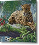 The Jaguar Metal Print