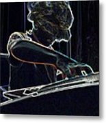 The Jammin Oop Man Jack Metal Print