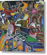 The Jazz Orchestra Metal Print