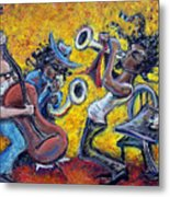 The Jazz Trio Metal Print