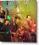The Jazz Vipers In New Orleans 02 Metal Print