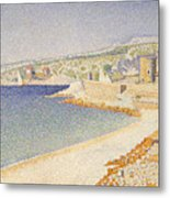 The Jetty At Cassis Metal Print