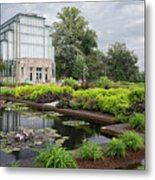 The Jewel Box At Forest Park Metal Print