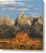 The John Moulton Barn Metal Print