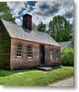 The John Wells House In Wells Maine Metal Print