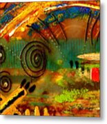 The Journey Back Home Metal Print