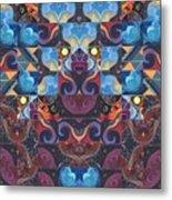 The Joy Of Design Mandala Series Puzzle 6 Arrangement 8 Metal Print