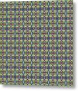 The Joy Of Design X X X I I I Arrangement 1 Tile 9x9 Metal Print