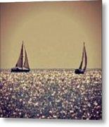 The Joy Of Sailing Metal Print