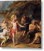 The Judgment Of Midas Metal Print