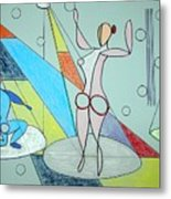 The Jugglers Metal Print