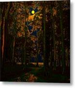 The Jungle Moon Metal Print