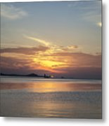 The Junk At Sunset Metal Print