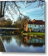 The Kennet And Avon Canal At Sulhamstead Metal Print
