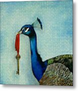 The Key To Success Metal Print