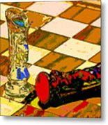 The King Is Dead Metal Print