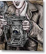 The King Of Cameras Metal Print