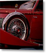 The King Of The Road Metal Print