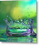 The Kings Crown Metal Print