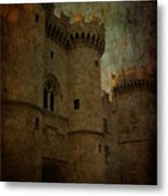 The King's Medieval Layer Metal Print