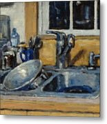 The Kitchen Sink Metal Print