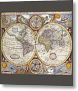 The Known World Metal Print