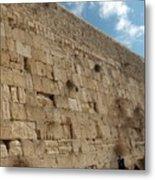 The Kotel - Western Wall In Jerusalem Metal Print