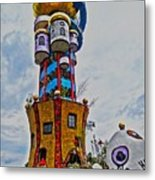 The Kuchlbauer Tower Metal Print