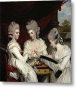 The Ladies Waldegrave Metal Print