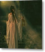 The Lady Of Shalott Metal Print by Shanina Conway