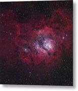 The Lagoon Nebula Metal Print