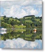 The Lake District Popular Beautiful Uk Holiday Destination Ullswater Cumbria North England Metal Print