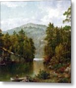 The Lake George Metal Print